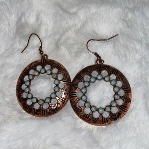 Boho style earrings